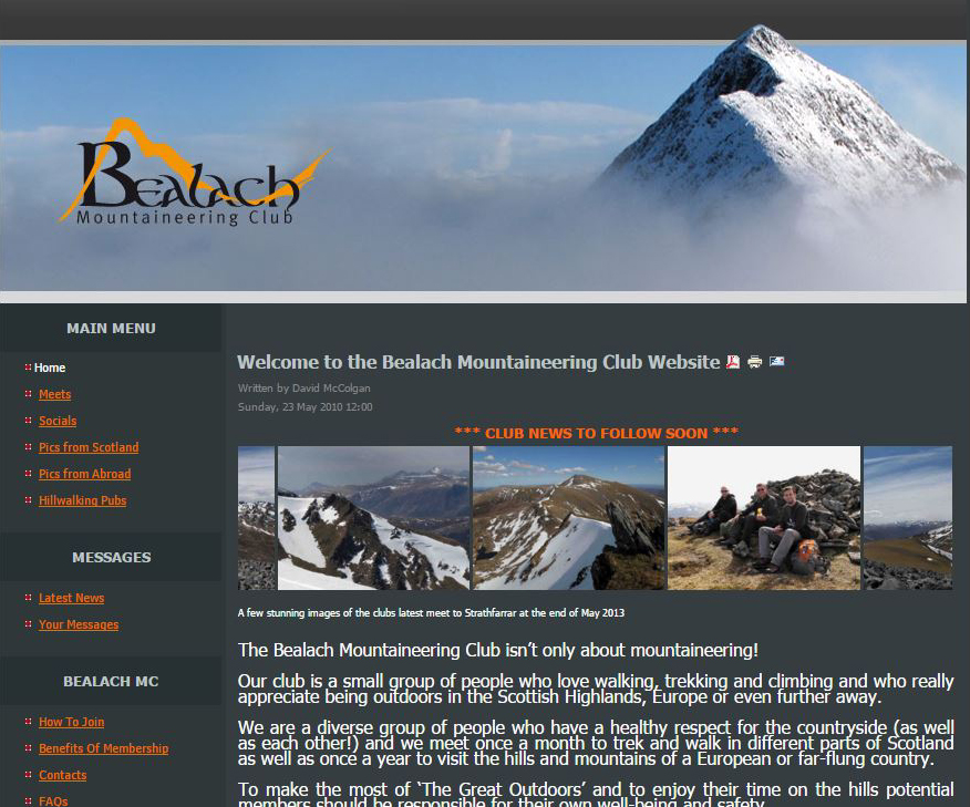 Bealach MC Screenshot