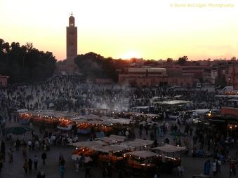 Djemaa el-Fna, Marrakesh
