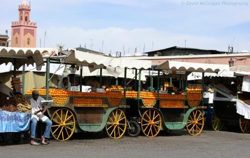 Orange Sellers, Djemaa el-Fna, Marrakesh