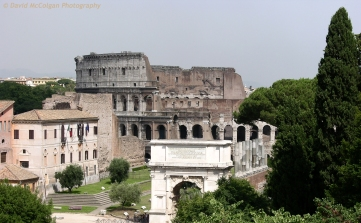 The Colosseum from The Forum