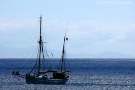 Sailing Boat off La Gomera