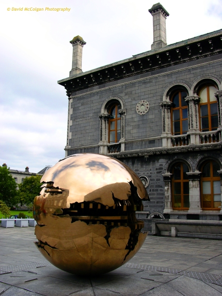 Sculpture at Trinity College