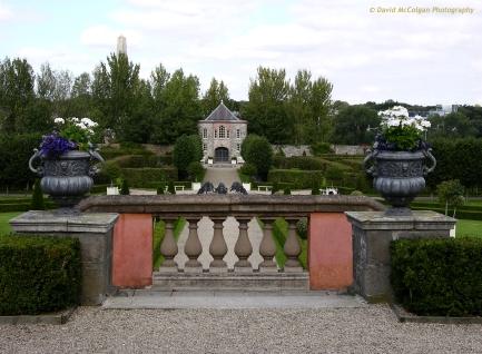 Gardens at the Irish Museum of Modern Art