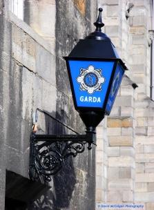Garda Police Sign
