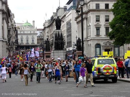 Parade on Regent Street
