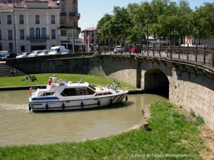 Boat on Canal du Midi