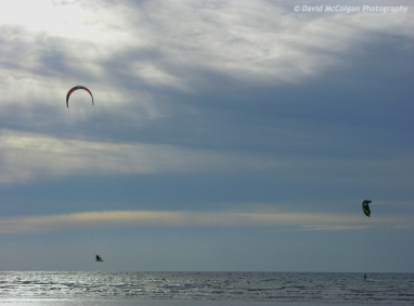 Kite Surfing at Troon
