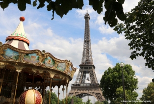 Fairground, Eiffel Tower