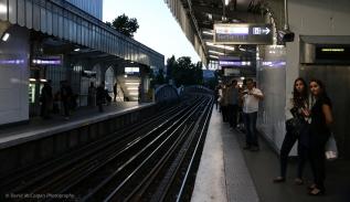 Jaures Metro Station
