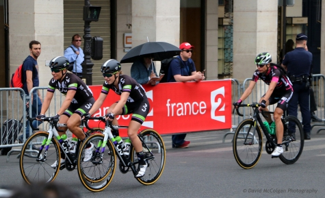 Tour de France from Rue de Rivoli