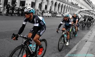 Tour de France from Rue de Rivoli