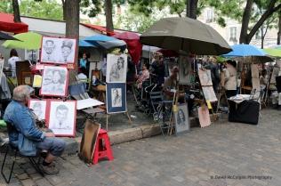 Street Artisits, Place du Tertre, Montmartre