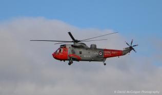 Sea King SAR from HMS Gannet, Monkton
