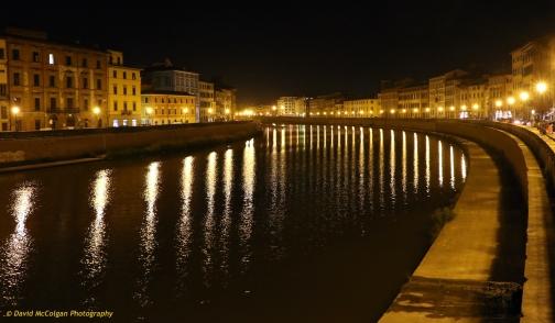 Fiume Arno, Pisa