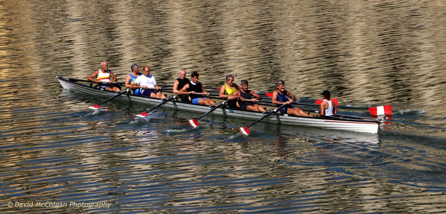 Rowing Team on the Fiume Arno