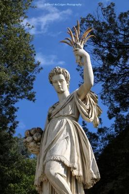 Demeter Goddess at the Boboli Gardens