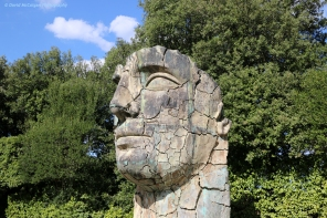 Sculpture at the Boboli Gardens