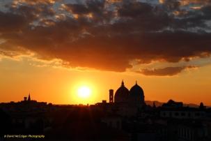 Firenze Skyline at Sunset