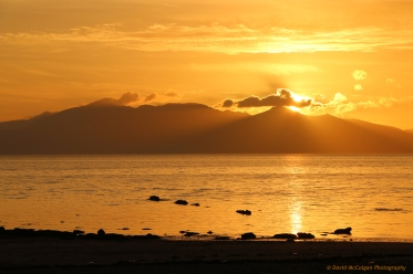 Isle of Arran from Seamill
