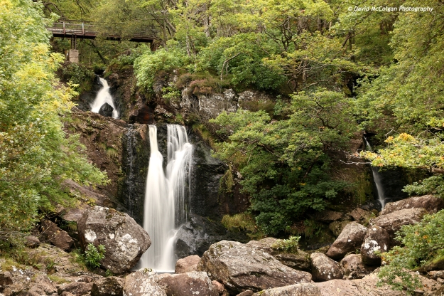 Inversnaid Waterfall, Loch Lomond