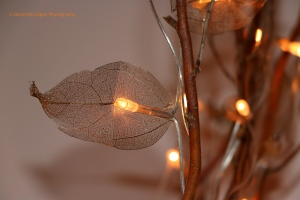 Gold Leaf LED Light