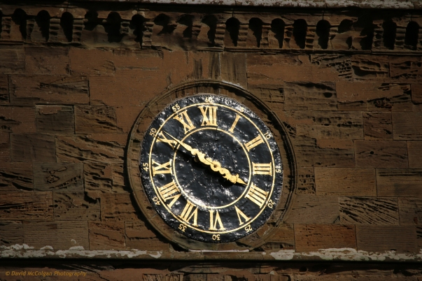 Clockface, Culzean Castle
