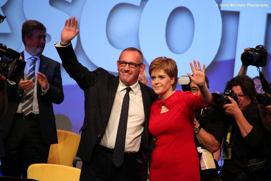 Stewart Hosie MP and Nicola Sturgeon