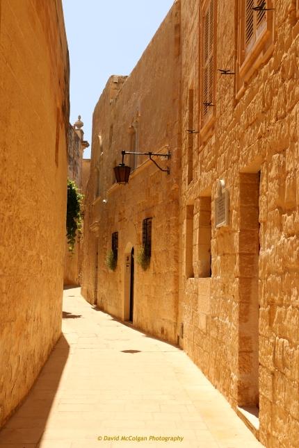 Narrow Streets of Mdina