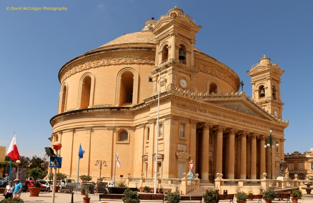 The Church of the Assumption of Our Lady, Mosta