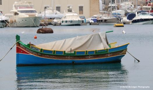 Luzzu Boat, Sliema