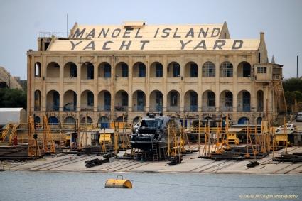 Manoel Island Yacht Yard, Gzira