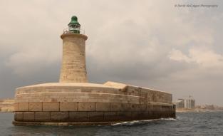 Grand Harbour Entrance Light, Valletta