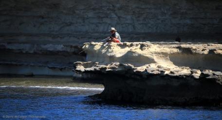 Fishing off Marsaxlokk Bay