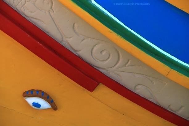 Colourful Luzzu Boats