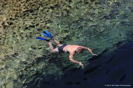 Snorkelling on Gozo