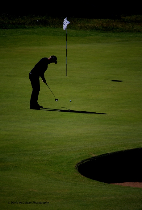 Twilight Golfer - Nathan Holman