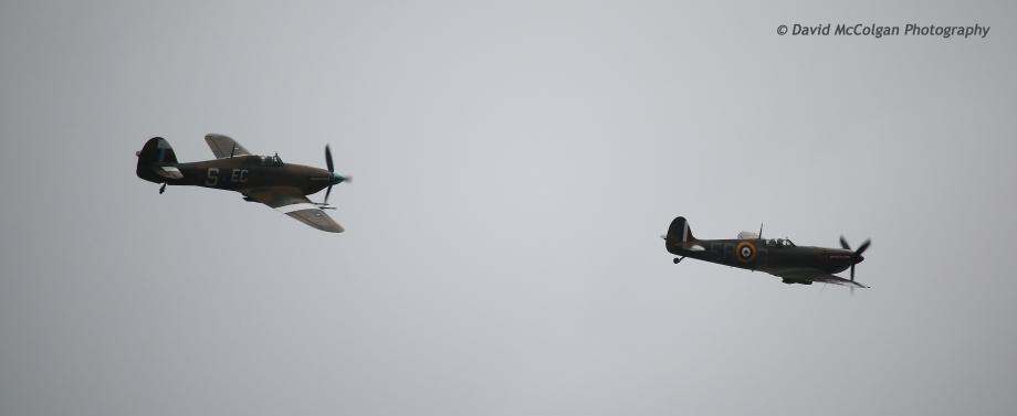 RAF Hurricane & RAF Spitfire