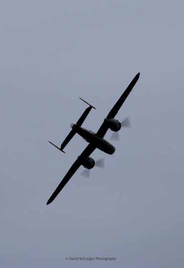 B25N Mitchell Bomber