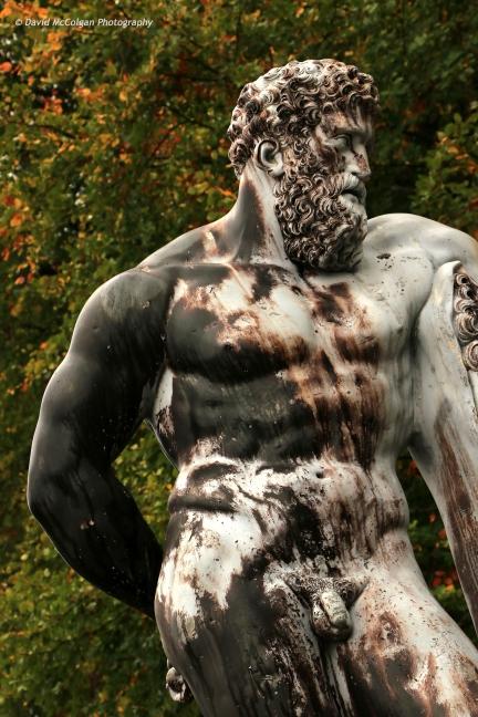 Hercules Statue, Blair Castle