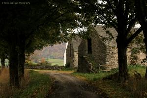 Old Farmhouse on Golf Course Road nr Moulin