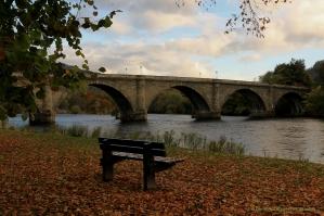 Dunkeld Bridge and the River Tay