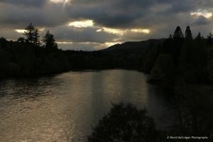 River Tay from Dunkeld Bridge