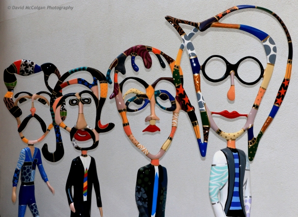 The Beatles Wall Sculpture