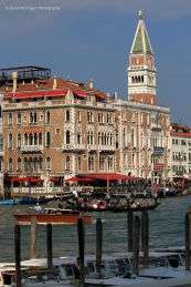 Campanile di San Marco from the Grand Canal