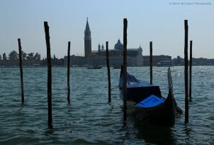 Gondola and Isola di S.Giorgio Maggiore