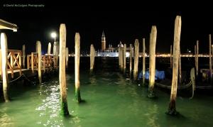 Isola di S.Giorgio Maggiore by night