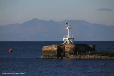 Ayr Harbour and Isle of Arran