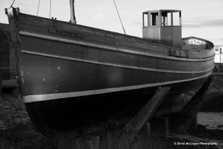 'Watchful' Herring Boat at Port of Ayr