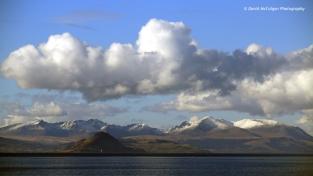 Isle of Arran taken from Culzean Castle