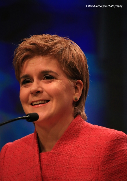 Nicola Sturgeon - First Minister of Scotland